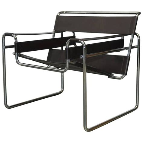 chaise marcel breuer mid century wassily chair by marcel breuer for stendig for