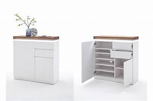 Meuble D Entrée Blanc : meuble d 39 entr e design blanc bois novomeuble ~ Teatrodelosmanantiales.com Idées de Décoration