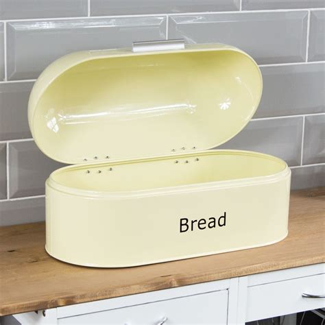 retro kitchen storage retro bread bin steel kitchen top storage loaf box 1945