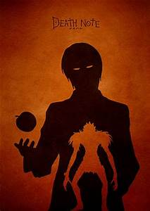 Death Note Minimalist Movie Poster by moonposter on Etsy ...