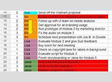 Project Management using a Google Spreadsheet YouTube