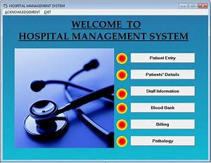 Source Code Hospital Management System