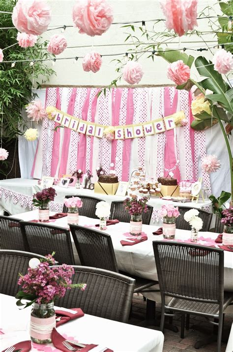 ideas   relaxed outdoor bridal shower wedding stuff