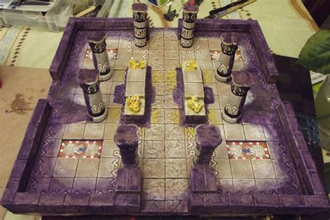 3d dungeon tile molds dungeon explore chamber by jordangreywolf