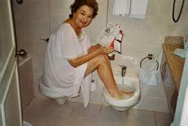 Argentina Bidet French Potty Humor  Life In An Open Suitcase