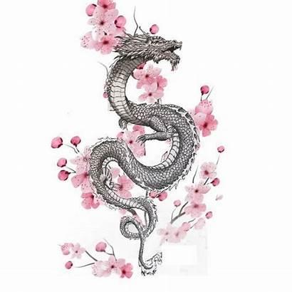 Tattoo Tattoos Cerezo Japanische Drachen Tattooideas Gemerkt
