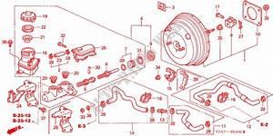 Brake Master Cylinder  Mas Ter Power  Lh  For Honda Cars