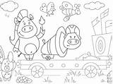 Circus Coloring Pages Ringmaster Printable Getcolorings Printab sketch template