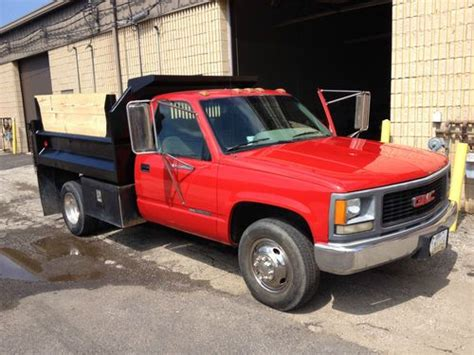 best car repair manuals 1995 gmc 3500 transmission control sell used 1995 gmc 3500 dump truck in willoughby ohio united states