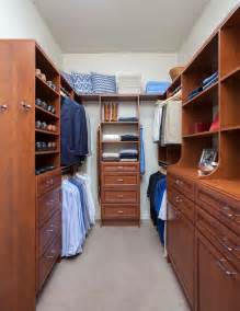 Dark Cabinets And Light Countertops by Small Walk In Closet Design Closet Contemporary With Walk