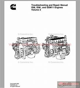 Cummins Troubleshooting And Repair Manual Ism  U0026 Qsm 11