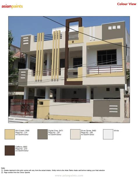 Modern House Exterior Elevation Ideas Pictures Color Combinations by Colour Scheme Suggested By Me To Dr Sourabh Neutral
