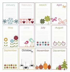 best 25 birthday calendar ideas on pinterest diy With family birthday calendar template