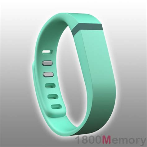 large replacement band metal clasp teal for fitbit flex