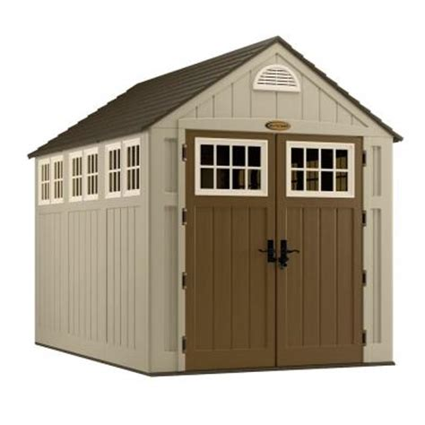 alpine 7 ft 5 3 4 in x 10 ft 8 in resin storage shed