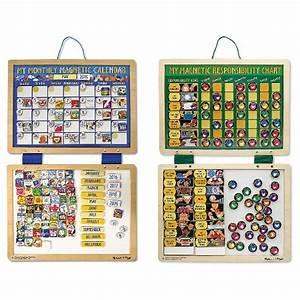 And Doug Magnetic Responsibility Chart Doug Kids 39 Magnetic Calendar And Responsibility