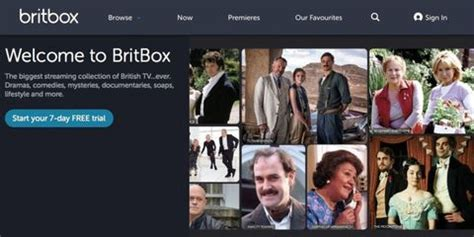 britbox british television  library