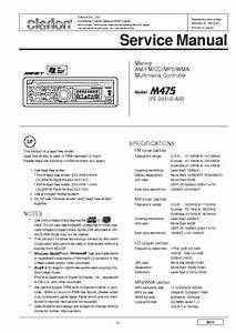 Clarion M475 Service Manual Download  Schematics  Eeprom  Repair Info For Electronics Experts