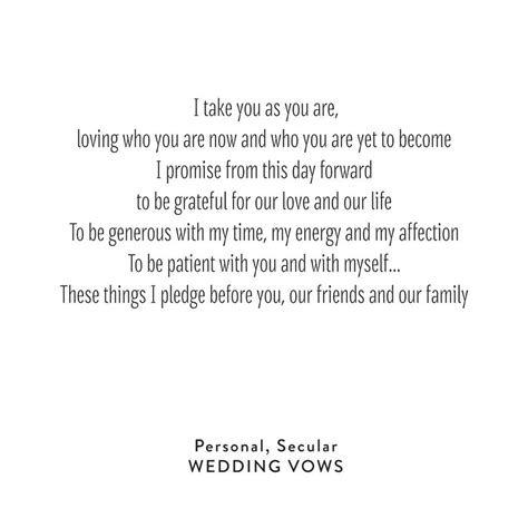 beautiful wedding vows    heard korky