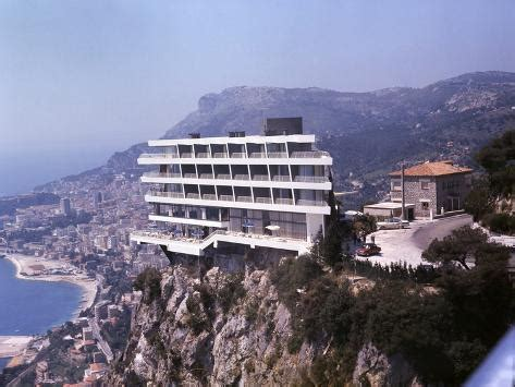 Perched On The Cliff Edge Overlooking The Sea by Vistaero Hotel Perched On The Edge Of A Cliff Above Monte