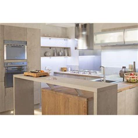 meuble de cuisine delinia composition type loft gris effet b 233 ton cuisines