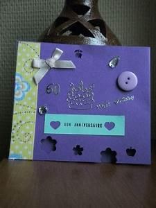 Fabriquer Carte Anniversaire : cartes d 39 anniversaire bienvenue dans mon univers ~ Melissatoandfro.com Idées de Décoration