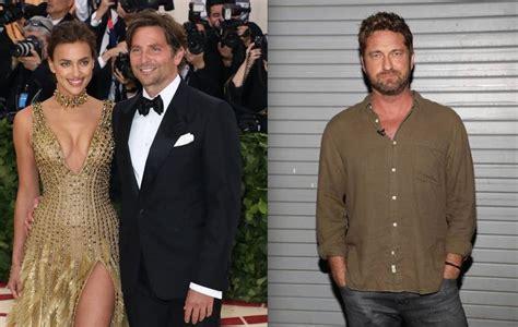 Bradley Cooper Stays At Gerard Butler's Apartment After
