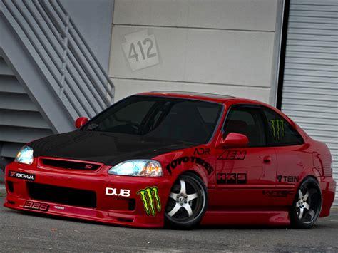 Modified Civic Vtec by Honda Civic Vtec Modified