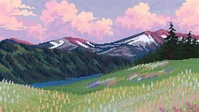 Bit Nature Wallpapers 4k Artwork Artist Backgrounds