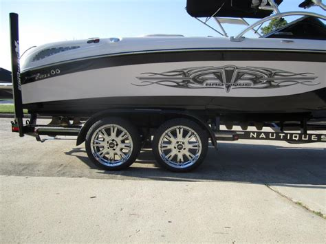 Custom Boat Trailer Rims by New Rims And Tires For The Boat Trailer Planetnautique