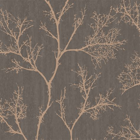graham brown brown gold icy trees wallpaper