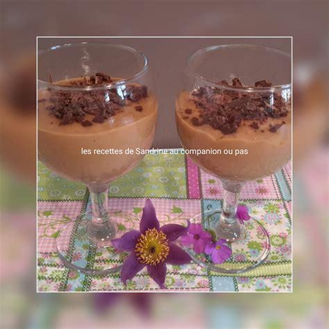 cr 232 me dessert onctueuse au caf 233 et ses copeaux de chocolat au companion thermomix ou autres