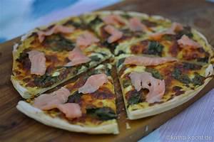 Honig Senf Sauce Salat : pizza mit mangold und r ucherlachs auf honig senf sauce katha kocht ~ Watch28wear.com Haus und Dekorationen