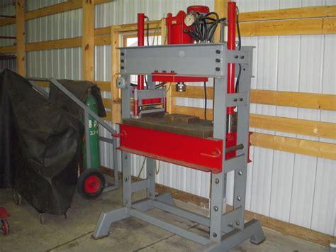 building 50ton floor press page 2 ofn forums workshop shop press welding shop