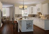 pictures of white kitchens Tinsley White Cabinets - LifeDesign Home