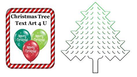ascii christmas tree tree ascii text