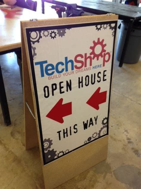build  sandwich board    sign  steps