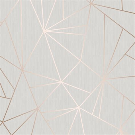 Henderson Interiors Camden Apex Glitter Wallpaper Rose
