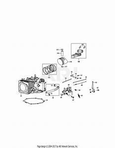 Mtd 4p90m0 Engine Parts Diagram For 4p90m0 Crankcase