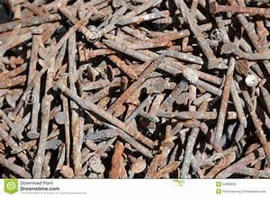 Rusty Nails Royalty Free Stock Photo - Image: 24809555