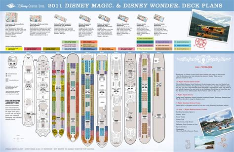 Disney Deck Plan 5 by 2011 Disney Cruise Deck Plans Mousemisers