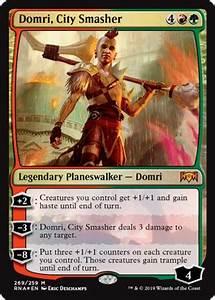 Domri, City Smasher - Planeswalker - Cards - MTG Salvation