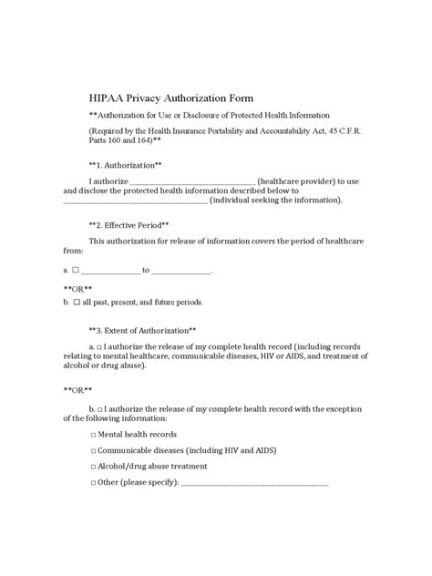 medical authorization form   templates   word