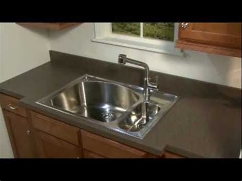 American Standard Kitchen Sink Install Size  Youtube
