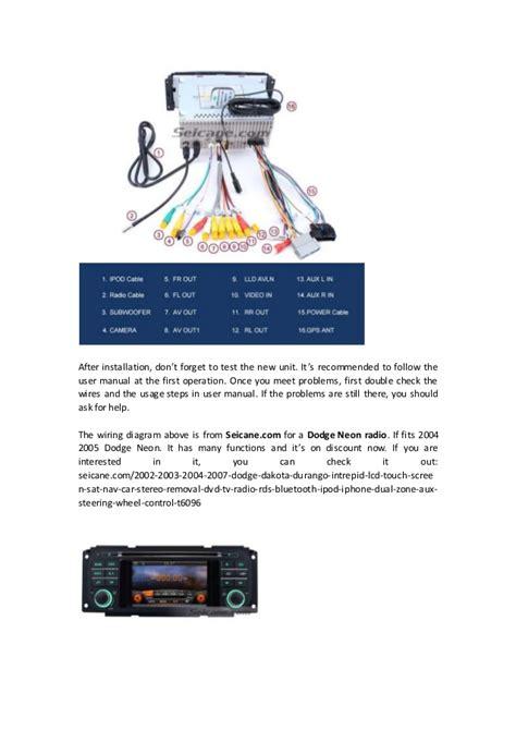 Diy Dodge Neon Radio Removal Installation