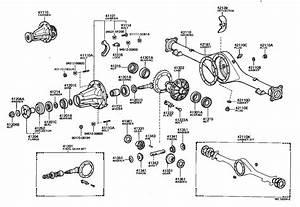 Toyota Hilux Rear Axle Diagram