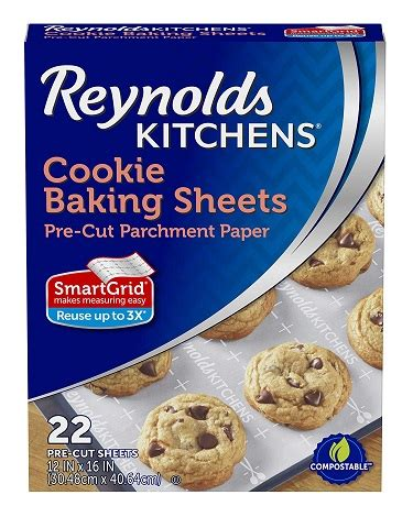 reynolds kitchens cookie baking sheets parchment