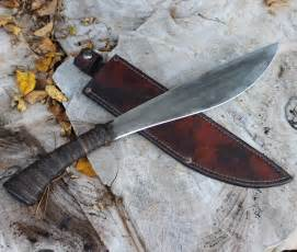 Forged Kitchen Knives Thai Machete Wildertools By Rick Marchand