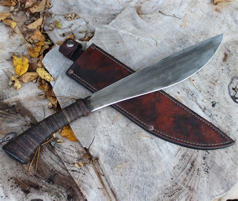 steel kitchen knives machete wildertools by rick marchand