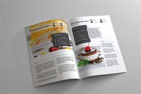 Recipe Book Template Recipe Book Template 6x9in Design Templates